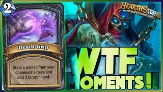 WTF MOMENTS! | Hearthstone Rise of Shadows moments