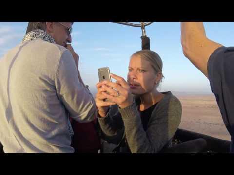 Marrakech Day 3 - The Hot Air Balloon Ride