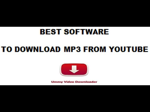 Best software to download mp3 from youtube