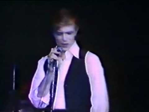 David Bowie-Thin White Duke Rehearsals - Life On Mars, Five Years (VIDEO) 1976