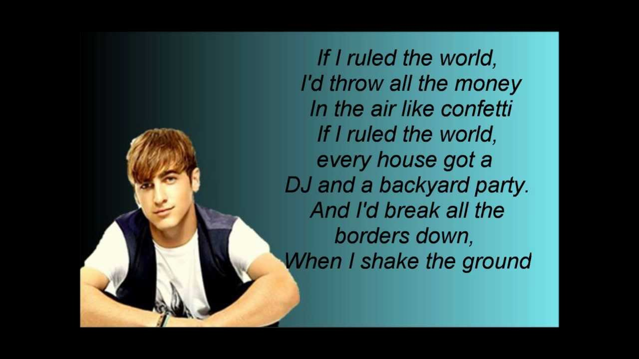if as i dictated a entire world lyrics