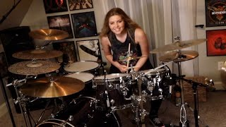 """CheVelle """"Straight Jacket Fashion"""" Drum Cover~Brooke C"""