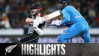 Williamson 95 off 48, Sharma Heroics | FULL HIGHLIGHTS | BLACKCAPS v India - 3rd T20, 2020