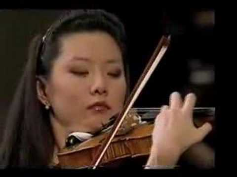 Yi-Jia Susanne Hou plays Barber Violin Concerto(excerpts)