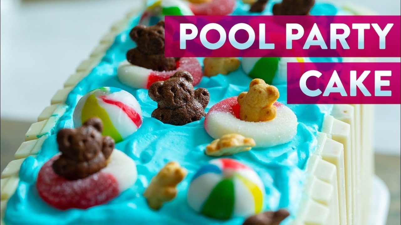 Pool Party Ice Cream Cake | Genius Kitchen - YouTube