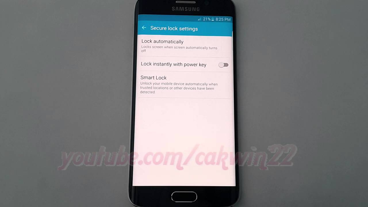 Galaxy s6 capacitive buttons the android soul - Android Lollipop How To Enable Or Disable Lock Instantly With Power Key On Samsung Galaxy S6