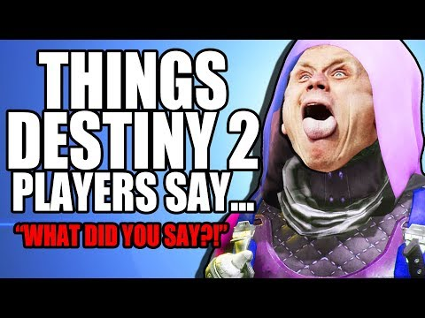 WHAT DOES THE DESTINY 2 PLAYER SAY?! | Funny Destiny 2 Gameplay thumbnail