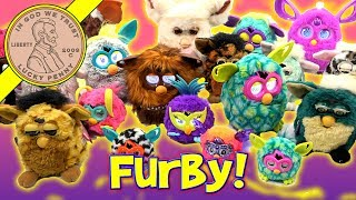 Furby Collection Bin Day! - Over 40 Tiger & Hasbro Furby - 1998, 2005 & 2012!