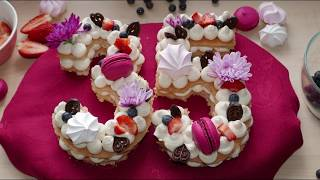 Number (Letter) Cake &amp Gluten-Free Sponge Cake Recipe  Gluten-Free, Nut-Free, Dairy-Free Cake