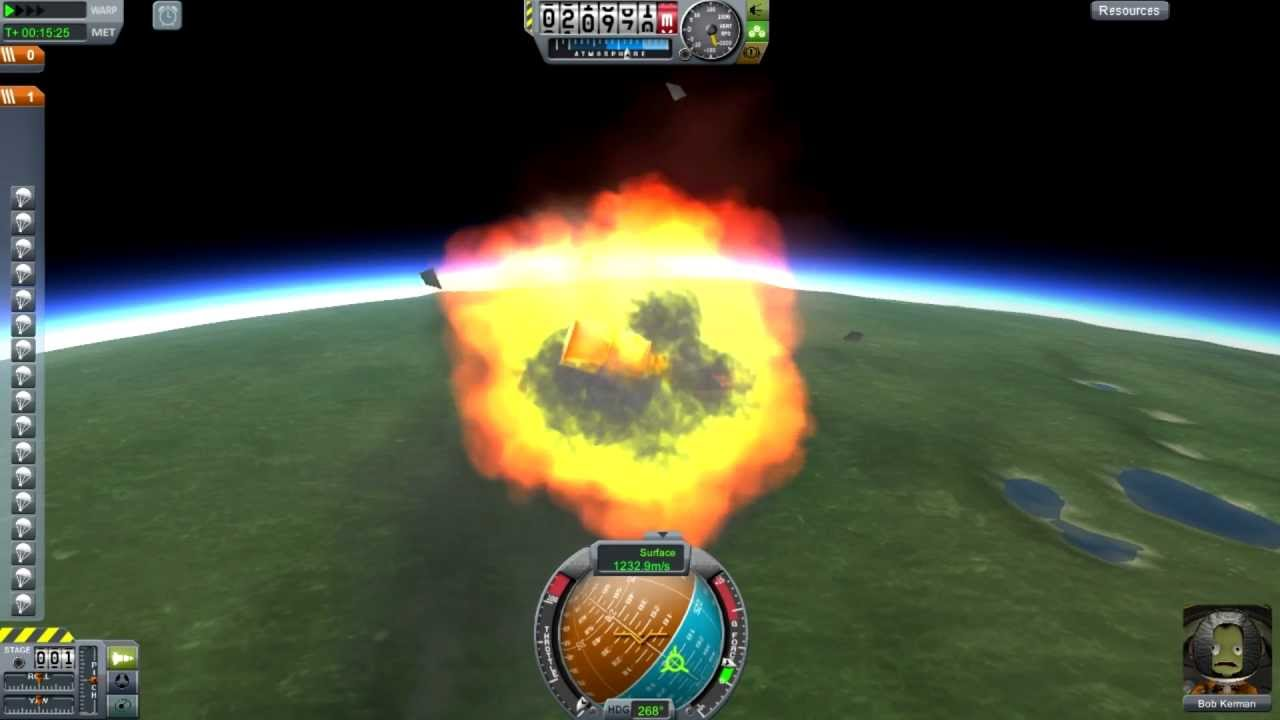 kerbal space program re entry - photo #15