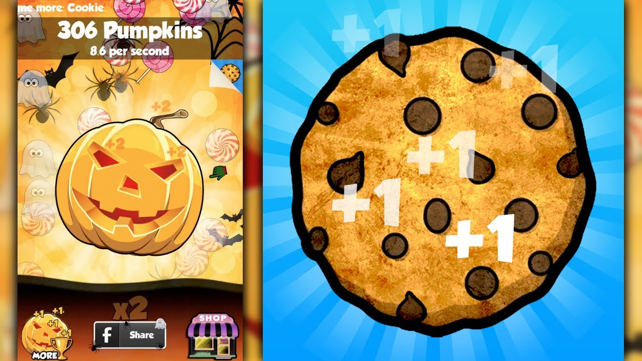 COOKIE CLICKERS (HALLOWEEN EDITION) - iPhone Gameplay ...