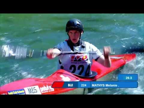 2017 ECA Wildwater Canoeing European Championships, Skopje (MKD) - Sprint Individual Final