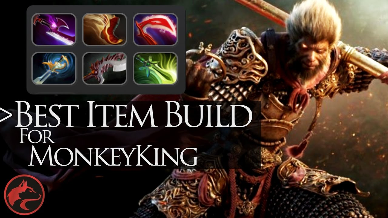 dota 2 item build guides 13 monkey king youtube