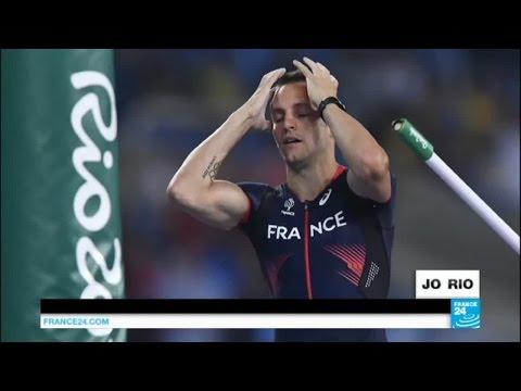 Rio 2016 : Renaud Lavillenie en argent, Aurélie Müller disqualifiée... Jour 9, la déception