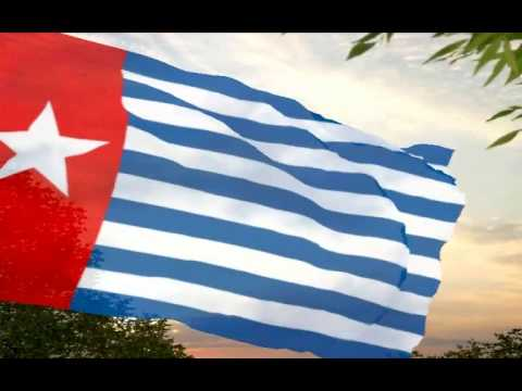 "West Papua/Papua Barat ""Hai Tanahku Papua""- synchro.music by Larysa Smirnoff & unknown singers"