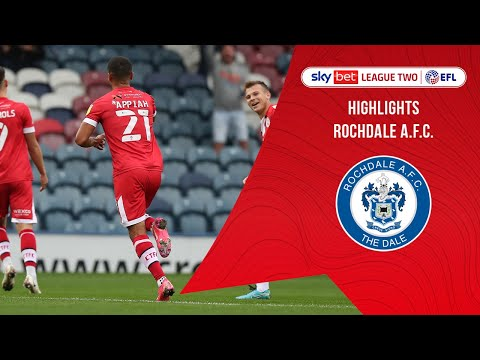 Rochdale Crawley Town Goals And Highlights