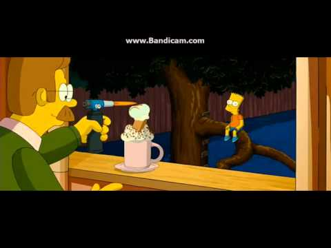 Mr Flanders Hot Chocolate The Simpsons Movie Youtube