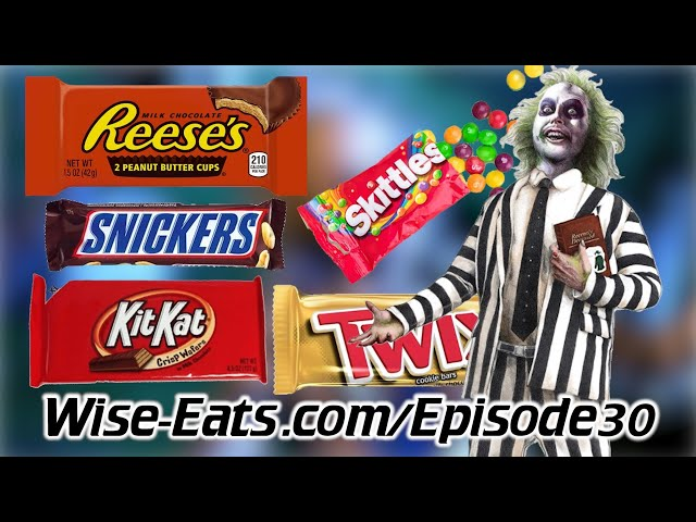 #30: Halloween Candy Review – Ingredients, Health Effects, Fun Facts, Healthy Alternatives