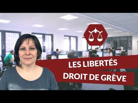 Les libertés individuelles et collectives : Le droit de grève - STMG Droit   digiSchool