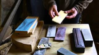 Introduction To Sharpening Wood Carving Tools With Robin Wood