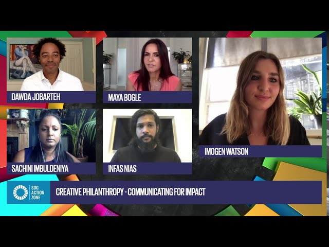 Creative philanthropy: Communicating for impact