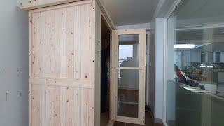 아파트 발코니에 안성맞춤 홈사우나 설치하기
