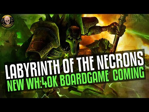 Labyrinth of the Necrons - New 40K Board game!