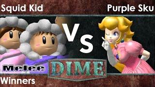 DIME 20 - .cde | Squid Kid (ICs) vs Purple Sku (Peach) Winners - Melee