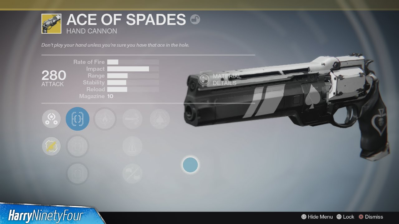 1862e91efa9 Destiny  The Taken King - How to get the Ace of Spades Exotic ...