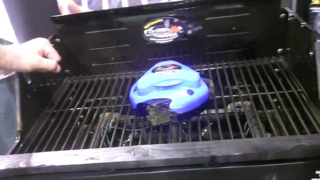 Theres Roomba For The Floor Now Theres Grillbot For The Bbq