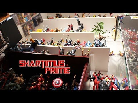 ShartimusPrime's 2016 Action Figure Collectible Toy Collection Video