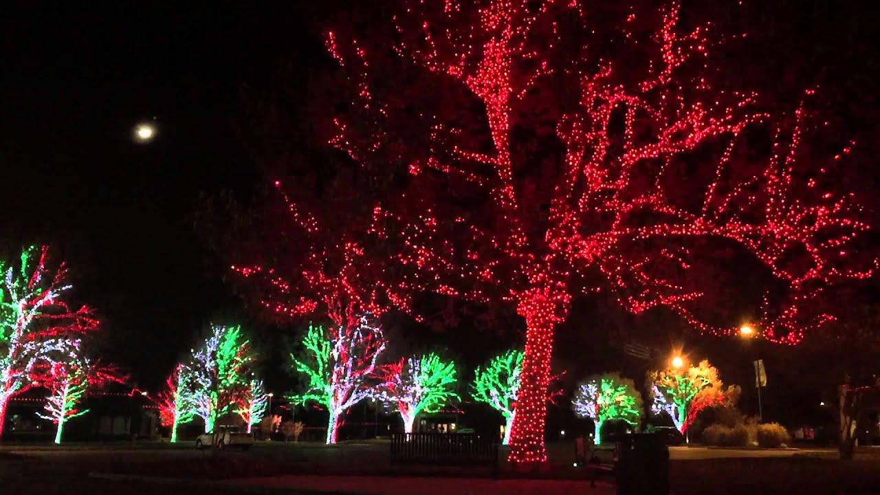 Christmas Lights at Nichols Hills Plaza