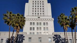 Must Watch: Otis/Dover Elevators and View - Los Angeles City Hall, Los Angeles CA
