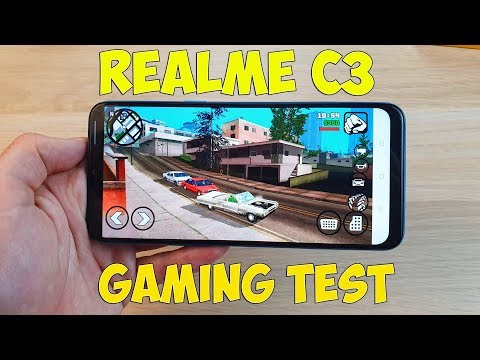REALME C3 GAMING TEST (HELIO G70) - ИГРОВОЙ ТЕСТ!