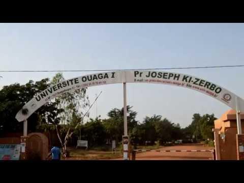 Insalubrité à l'université Ouaga 1 Prof Joseph KI-ZERBO