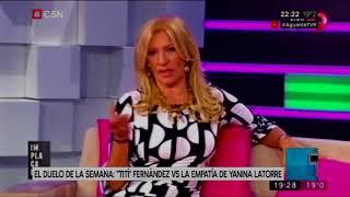 Tití Fernandez vs. Yanina Latorre