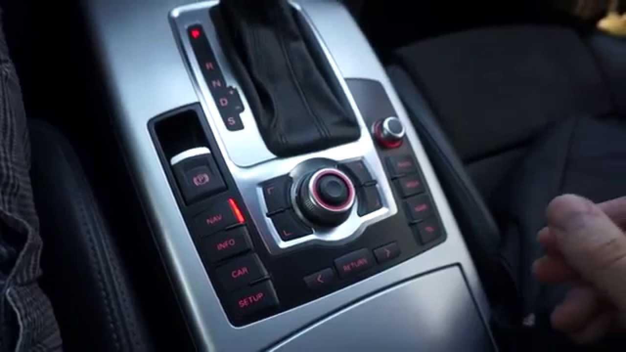 Перезапуск Audi MMI 3G+