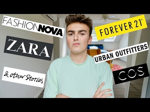 Fast Fashion Is Disgusting (you Need To Stop Shopping At Fashion Nova, Zara, And Primark)