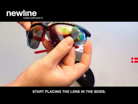 How To Replace Lens In Newline Opera Sport Glasses