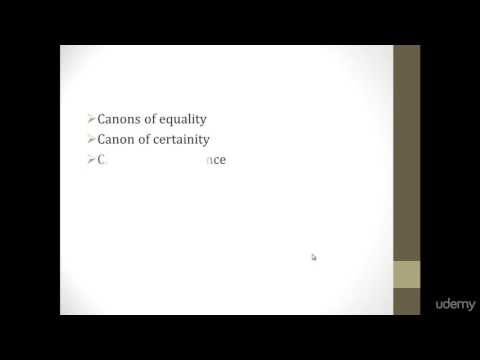 canons of taxation Adam smith's canon of taxation: 1 canon of equality: the subjects of every state ought to contribute towards the support of the government, as nearly as possible, in proportion to their respective abilities.