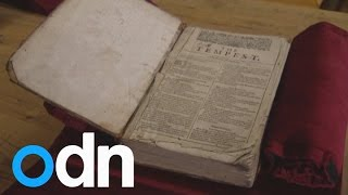 Rare Shakespeare First Folio returns to UK after discovery in French library