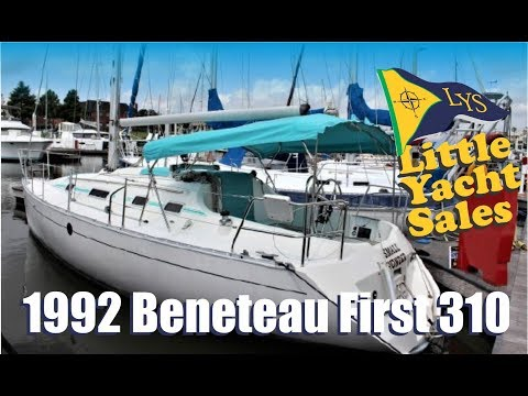 1992 Beneteau First 310 Sailboat for sale at Little Yacht Sales, Kemah Texas