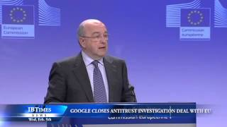 Google Closes Antitrust Investigation Deal with EU