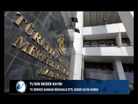 TC MERKEZ BANKASI MÜDAHALE ETTİ, DEĞER KAYBI DURDU