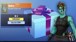 *NEW* How to Gift SKINS in Fortnite Season 6.. (FREE Skins Gifting System)