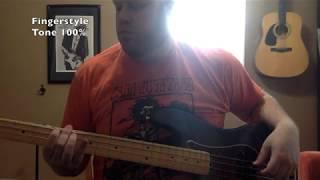 Fender Pure Vintage 63 Precision Bass Pickup Demo