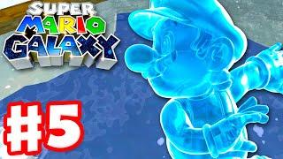 Super Mario Galaxy - Gameplay Walkthrough Part 5 - Beach Bowl Galaxy! (Super Mario 3D All Stars)