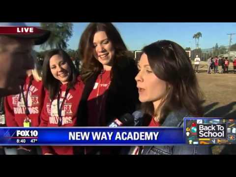 New Way Academy On The News With Fox 10