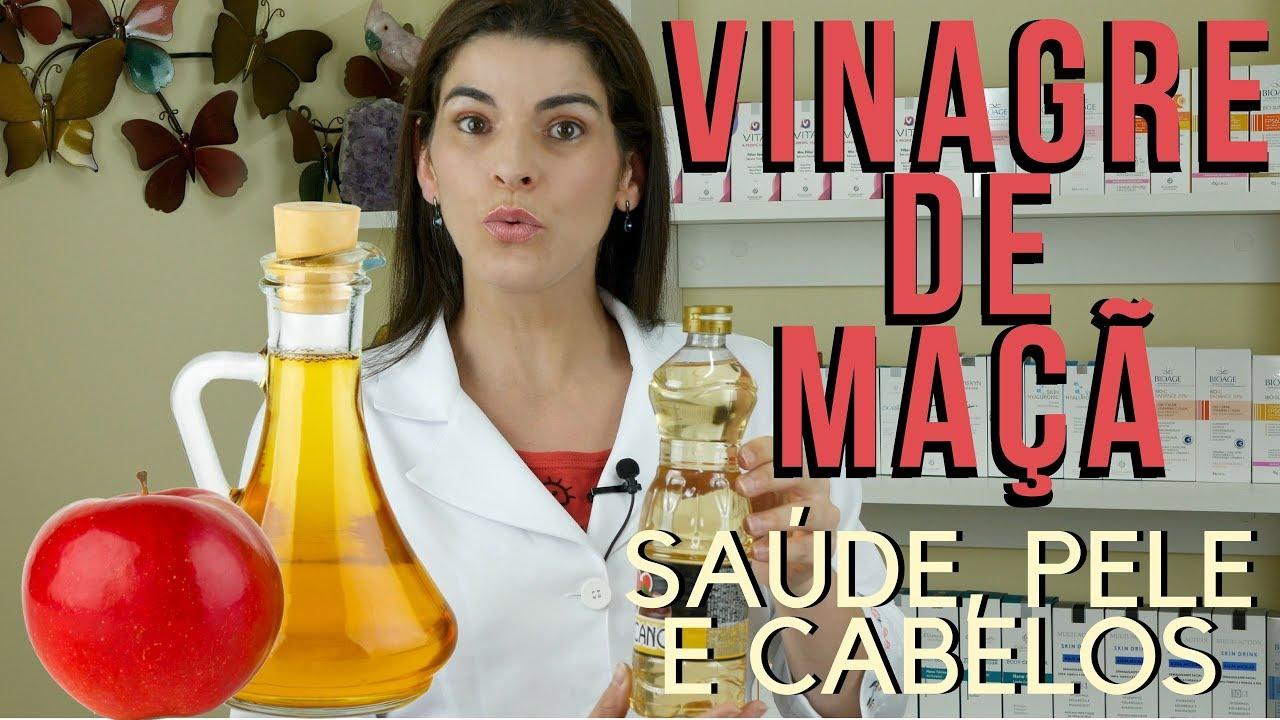 Use Vinagre De Maca Beneficios Para Saude Pele E Cabelos Youtube