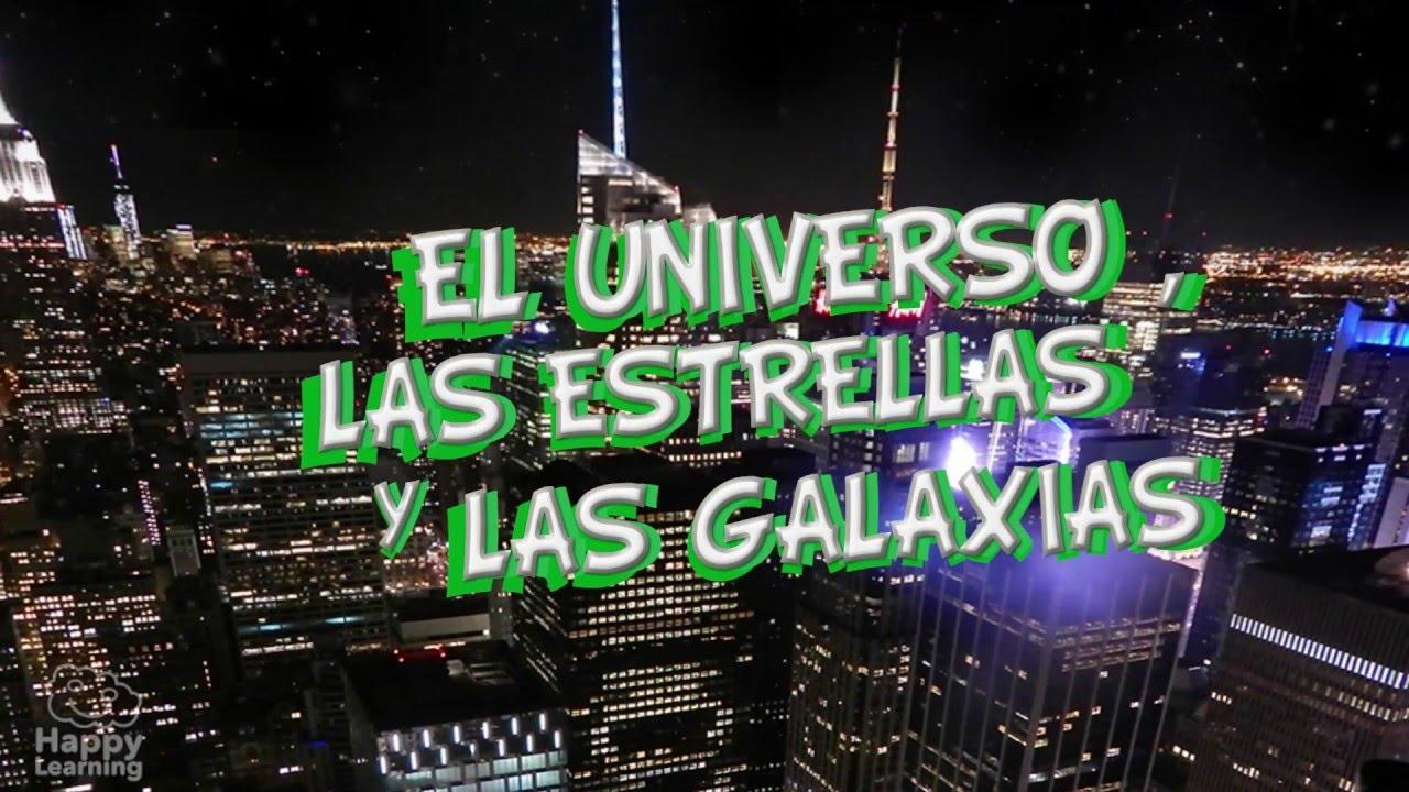 El universo, estrellas y galaxias. Vídeos educativos para niños ...
